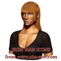 Pepper Potts Icon by aha-soft-icons