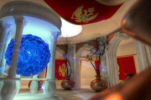 Montenegro Flag-Room by SanchoPancho