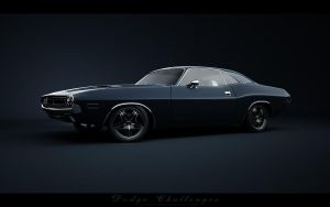 Dodge Challenger_Front by Saleri