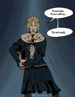 Bloodborne | AU Comic pt 05 by Dezfezable