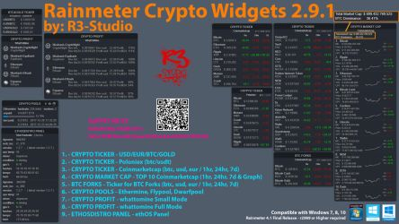 R3-Studio Crypto Widgets 2.9.1 by R3-Studio