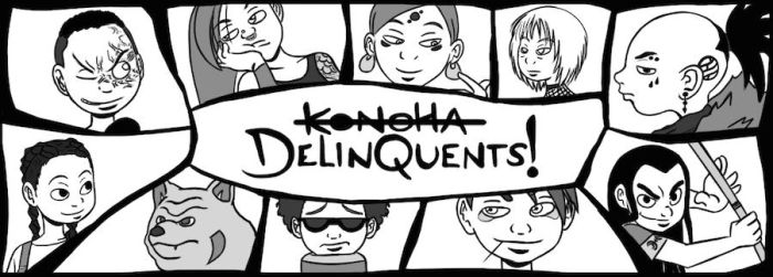 Konoha Delinquents!! by EarthBenderCharlie
