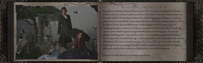 Wickleby Chronicles, Part VI by Poetrymann