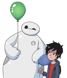 baymax being an ass by Laughe