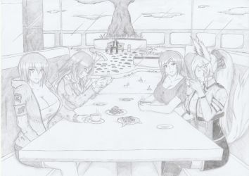 GROUP PIC 24 Talia and Other OC'S 2 by FANSILVER