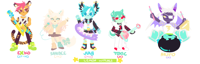 SHOW BY LEMON WITCHES by raintie