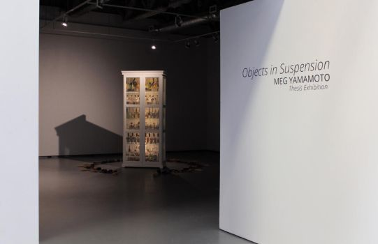 Objects in Suspension Thesis Exhibition by megyamamoto