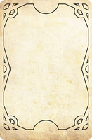 template for a card