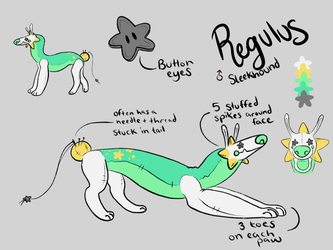 Regulus Ref by Hennamae