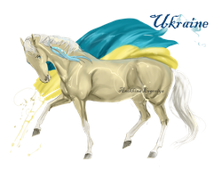 Horse Hetalia: Ukraine by MUSONART