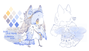 MYO Birdfolk: Contest Entry by nanomori
