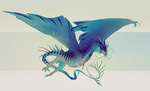 Comm| Fluorite Wyvern by SunDier