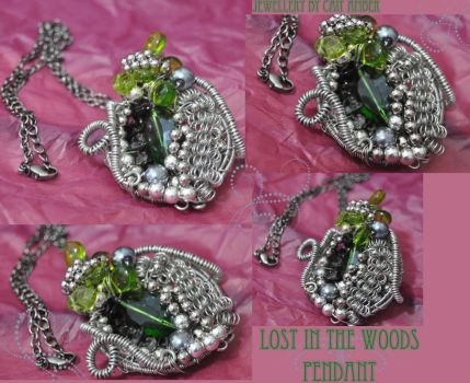 Deep in the Woods Pendant by tanyquil