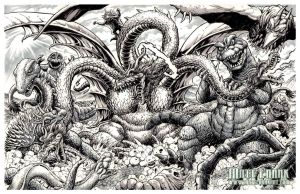 Destroy All Monsters by KaijuSamurai