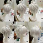 Clear wig by Die-Rose