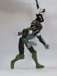 Stop Motion Max Steel vs Bad Face by XIZOR-1