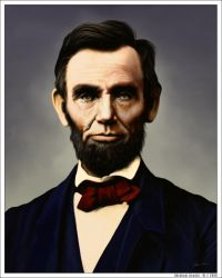 Abraham Lincoln by wendelin
