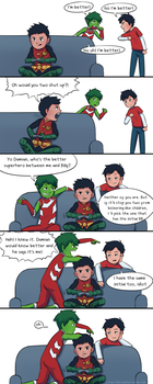 Damian the troll by OtterTheAuthor