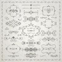 Freebie! Decorative Elements by HelgaHelgy