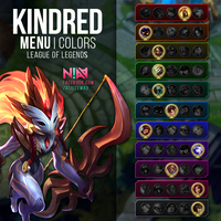Kindred Menu Custom - League of Legends by AliceeMad