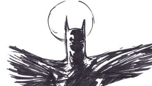 napkin batman 2 by Mark-Clark-II