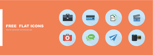 Free flat icons by jozef89