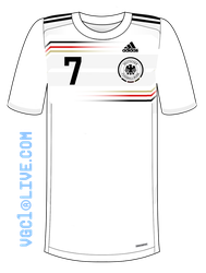 Germany 2014 World Cup Home Kit by Muums
