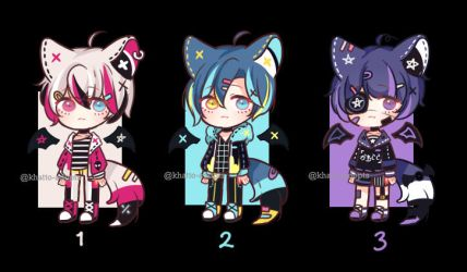$1 SB Auction Adopts | CLOSED by khatto-adopts