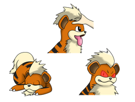 Growlithe by faren916