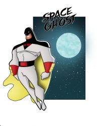 Space Ghost by Salvador-Raga