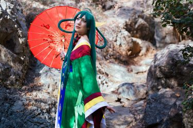 Kaguya - Bamboo princess by tajfu