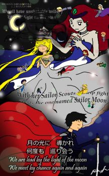 Sailor Moon - The Beginning by Ponyta