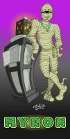 Mummy - MYRON by Art-by-Andy