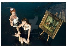 at the sea_05 by hellwoman