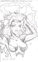 Convention Sketch Card11 by SavantGuarde