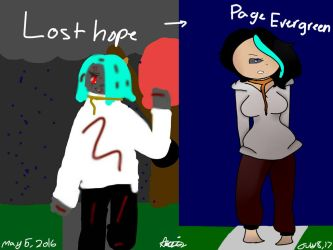 Lost Hope Redraw (turning old oc's into new oc's) by Aliderp123