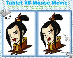 Tablet vs Mouse meme by Niban-Destikim