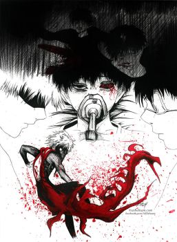 Day 1: Tower (Tokyo Ghoul) by Aty-S-Behsam