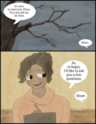 Elroy's Therapist - Page 1 by sharkdivus