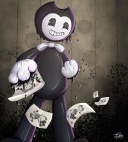 Bendy and the ink machine by TipsyKitten