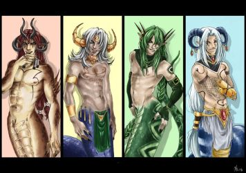 Naga Foursome by NEPi