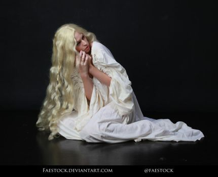 Crimson Peak - Sitting Pose Stock Resource 21 by faestock