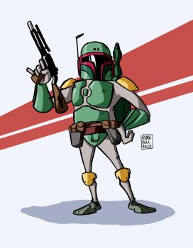 Boba Fett again. by MegaRyan104