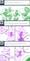 Ask SPM 127_Dimentio X Mr. L shipping reactions by Chivi-chivik