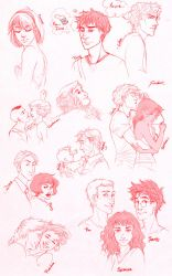 Red drawings by palnk
