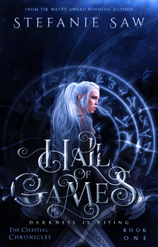 Hall Of games Book Cover by Artinthevein