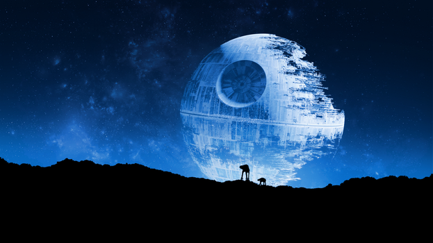 Star Wars - Death Star Wallpaper by RockLou