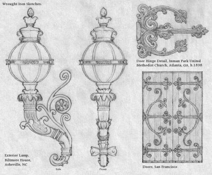 Wrought Iron Sketches by Built4ever