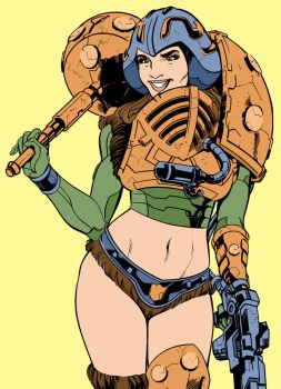 Woman-At-Arms By Marianonavarro by Kenkira