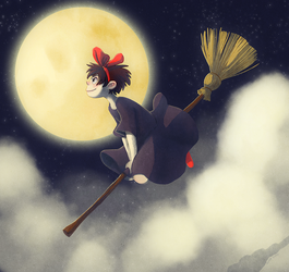 My Favorite Witch by adailey